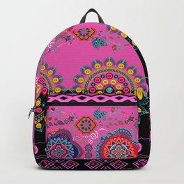 Flowers Art mandala design Backpack