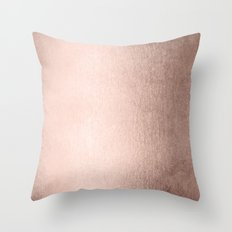 Simply Moon Dust Bronze Throw Pillow