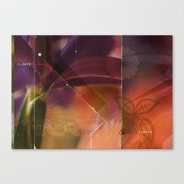 flower structure Canvas Print