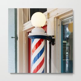 Alabama Barber Shop Metal Print