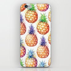 Fat Pineapples Pattern iPhone & iPod Skin