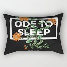 TOP Ode To Sleep Rectangular Pillow