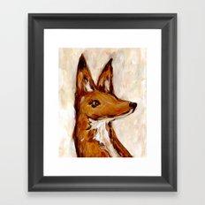 A Fox Named Horatio Framed Art Print