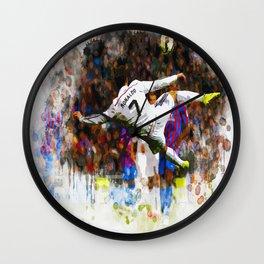 Cristiano Ronaldo - THE TRADE MARK KICK Wall Clock