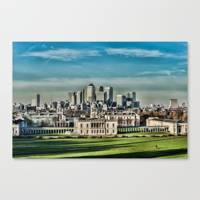 London - Canary wharf Towers Canvas Print
