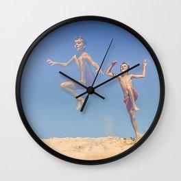 Jump ! Wall Clock