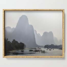 Li River China Serving Tray