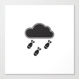 cloudbomb Canvas Print