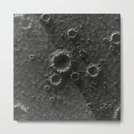texture of the Moon, seamless Metal Print
