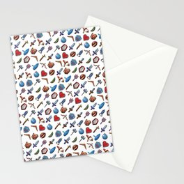 A Hero's Arsenal (White) Stationery Cards