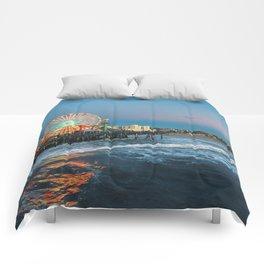 Wheel of Fortune - Santa Monica, California Comforters