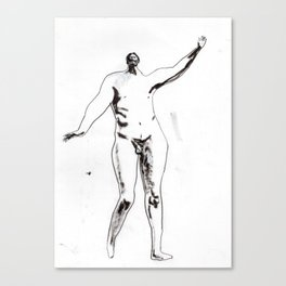 Victorian nude male Canvas Print