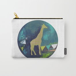 Happy Giraffe Carry-All Pouch