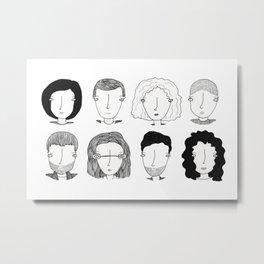 S8:Los ocho Metal Print