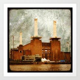 Battersea Power Station - London Art Print