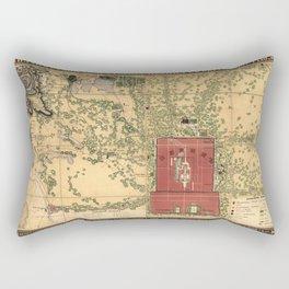 Beijing 1848 Rectangular Pillow
