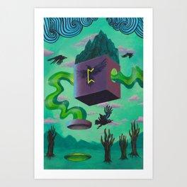 Perthro Art Print