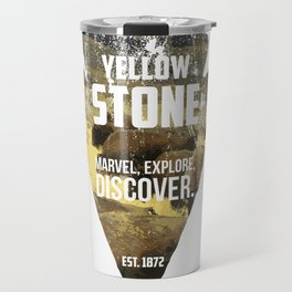 Yellow Stone Travel Mug