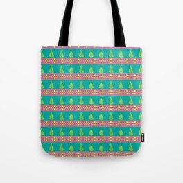 Leaves and Borders Tote Bag