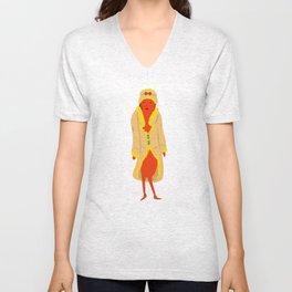 Stylish Hotdog Unisex V-Neck