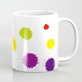Seamless pattern background with rainbow blots Coffee Mug