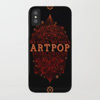 artpop iPhone & iPod Cases featuring Artpop by Mario Ezquerra