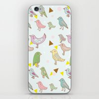 Bird Pattern iPhone & iPod Skin