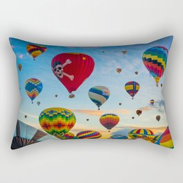 Mass Ascension Rectangular Pillow