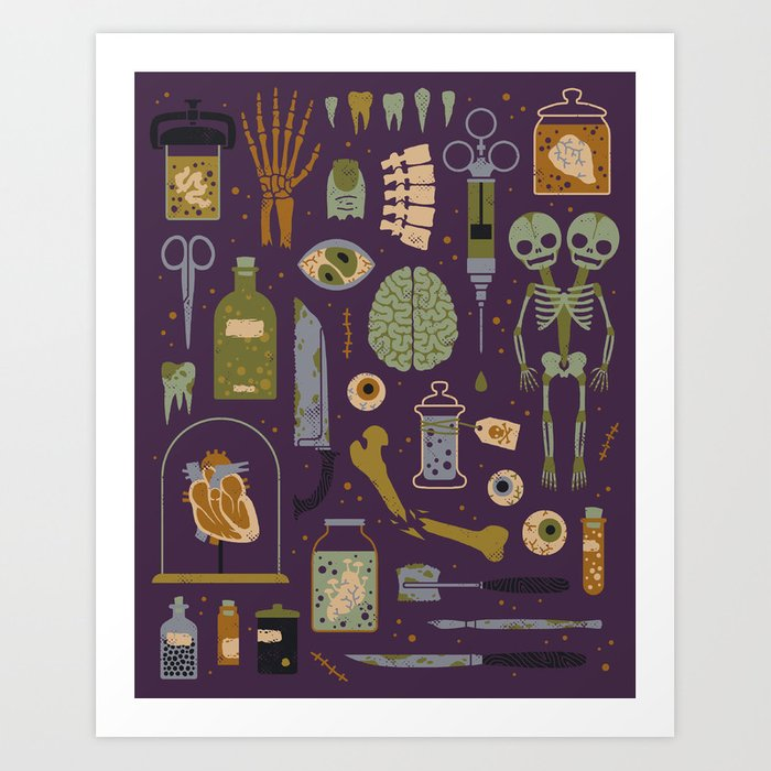 Odditites Art Print