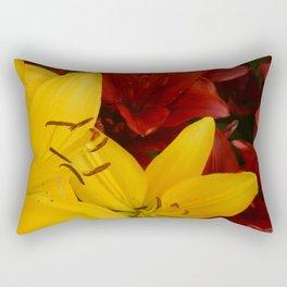 """A Gathering of Lilies"" - 2 [D4466~24] Rectangular Pillow"