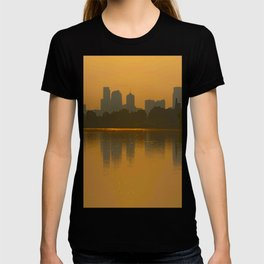 Come Sit With Me At Sloan Lake Downton Denver Colorado T-shirt
