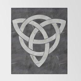 Celtic knot Throw Blanket