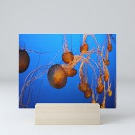 Floating In Blue Water Mini Art Print