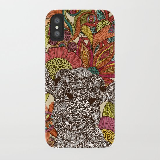 Arabella and the flowers iPhone Case