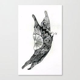 Henna Design 13 Canvas Print