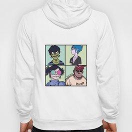 Murdoc, 2D, Noodle, Russel, band art Hoody