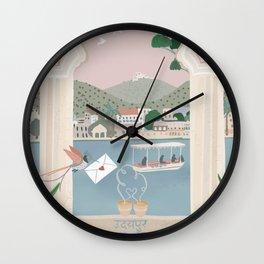 Udaipur love Wall Clock