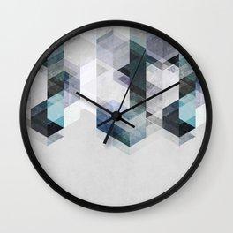 Nordic Combination 22 B Wall Clock