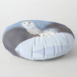 My favorite snowman Floor Pillow
