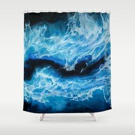 Electric Sea Shower Curtain
