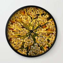 Queen Anne's Lace Wall Clock