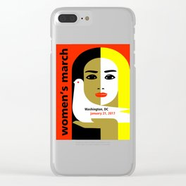 Women's March On Washington 2017 Clear iPhone Case