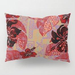 On Fire Kona Tropical Floral Pillow Sham