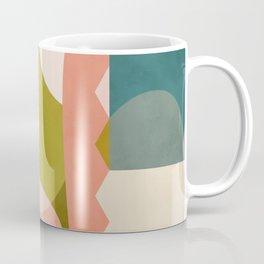shapes geometry art mid century Coffee Mug