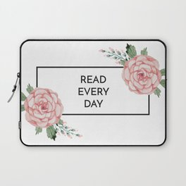 Read Every Day Laptop Sleeve