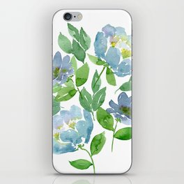 Forever Blue iPhone Skin