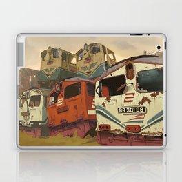 Train Graveyard Laptop & iPad Skin