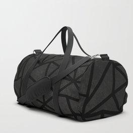 Ab Marble Zoom Black Duffle Bag