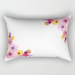 Floral Wrap Rectangular Pillow