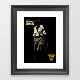 Indiana Jones: Raiders of the Lost Ark Framed Art Print
